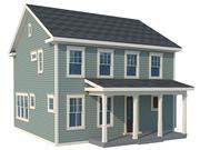Casa de los Estados Unidos 05 modelo 3d