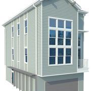 ハウス15 3d model