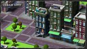 URBAN CITY 3d model