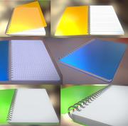 Notepad Pack 3d model