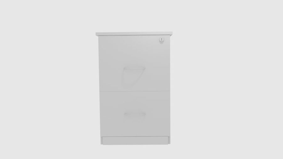 Filing Cabinet Drawer royalty-free 3d model - Preview no. 5