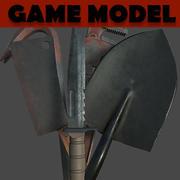 Pack d'armes de mêlée 3d model