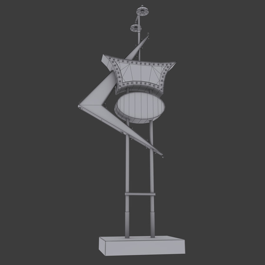 Tecken royalty-free 3d model - Preview no. 4
