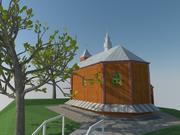 Kerk 3d model