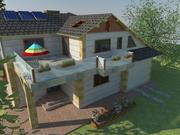 Osiedle mieszkaniowe 3d model