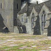 Fortified Manor 3d model