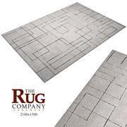 Carpet_sam-Turner-stadsbild-matta 3d model