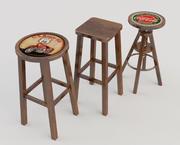 Tavern Stools 3d model