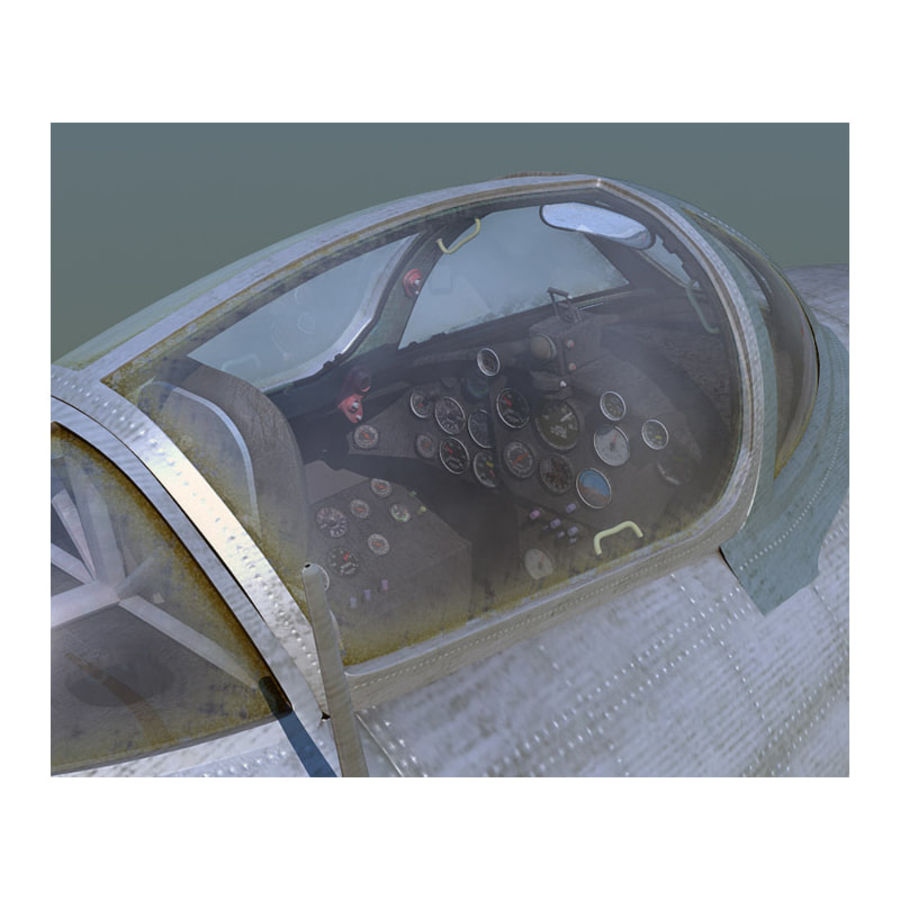 MiG 15 para Poser royalty-free 3d model - Preview no. 7
