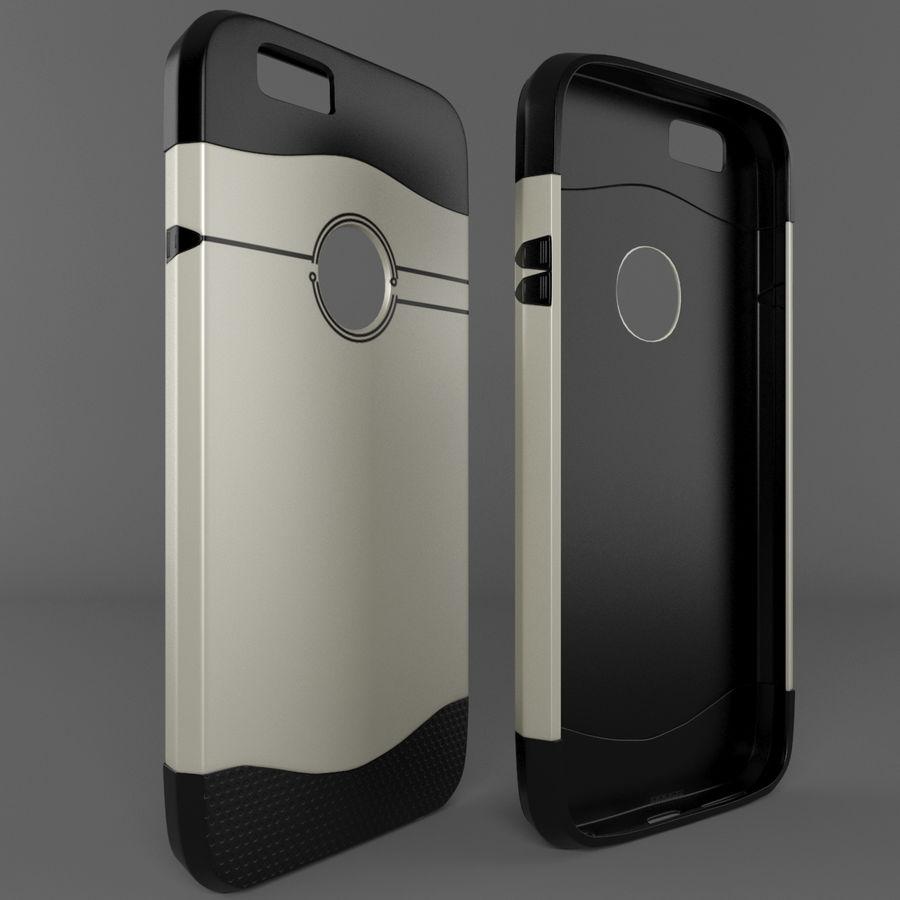 苹果手机外壳 royalty-free 3d model - Preview no. 3