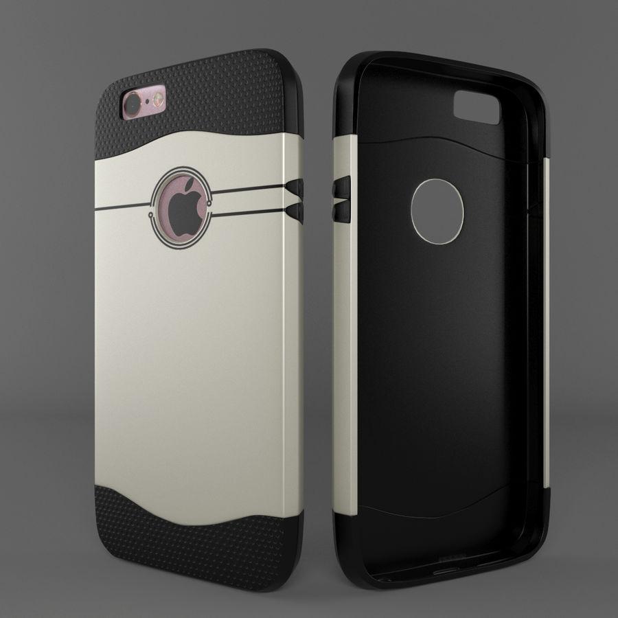 苹果手机外壳 royalty-free 3d model - Preview no. 2