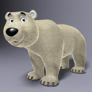 Cartoon Polar Bear Rigged 3d model