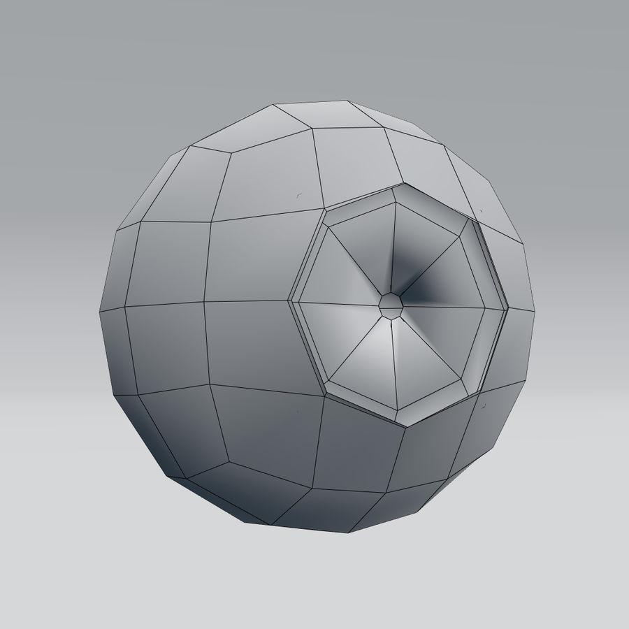인간의 눈 royalty-free 3d model - Preview no. 18