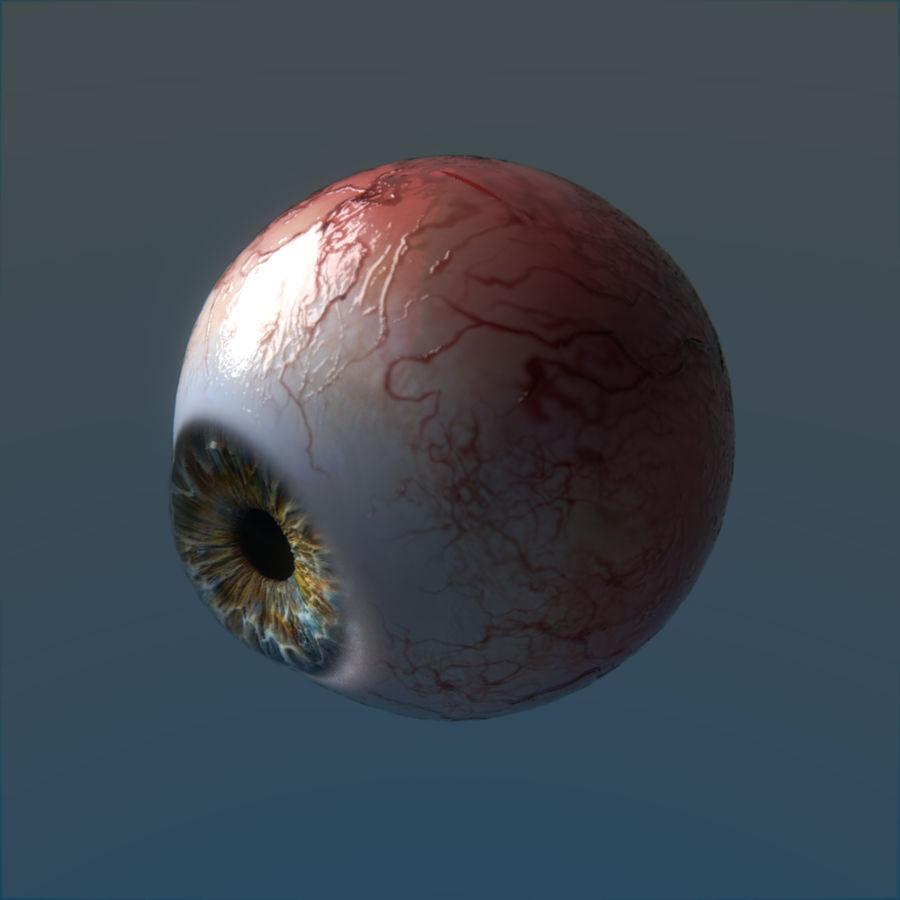 인간의 눈 royalty-free 3d model - Preview no. 5