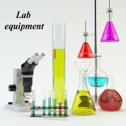 実験装置セット 3d model