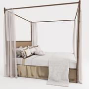 włoskie łóżko 3d model