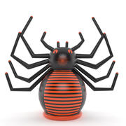 inflatable spider 3d model