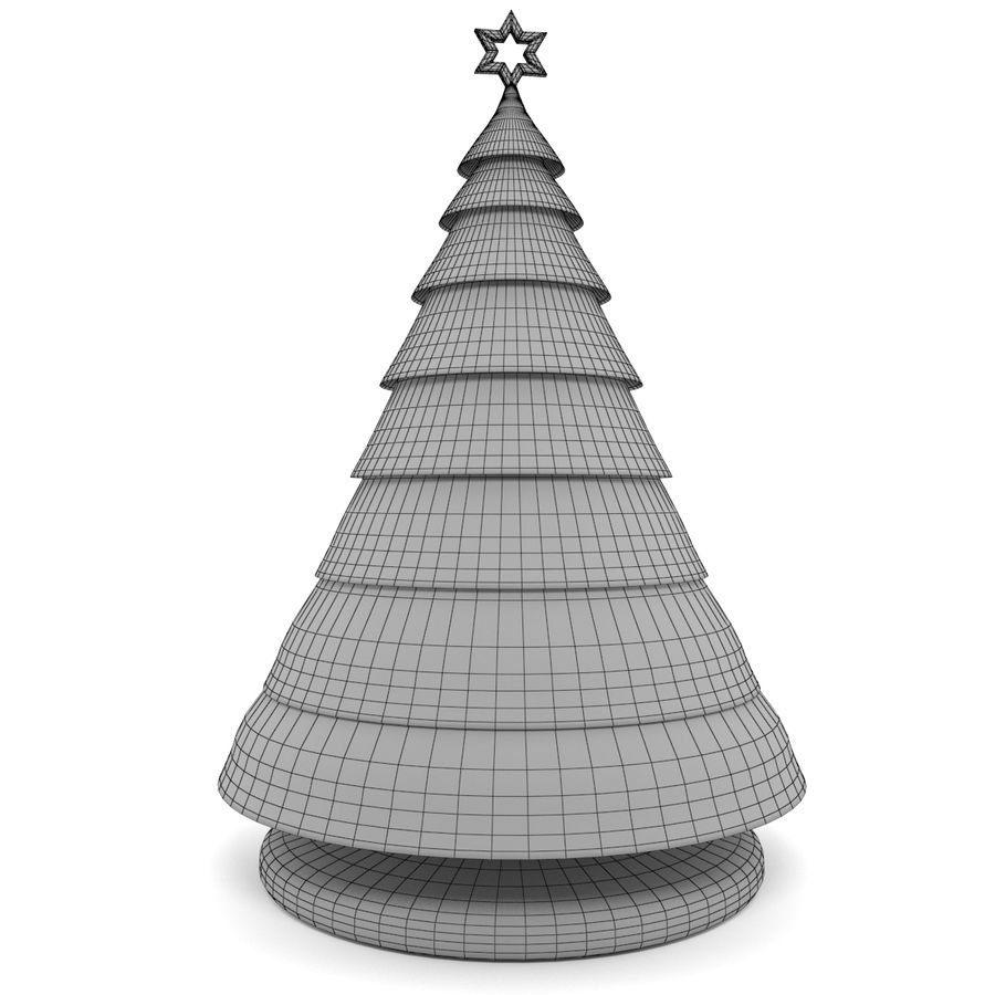 inflatable tree royalty-free 3d model - Preview no. 5