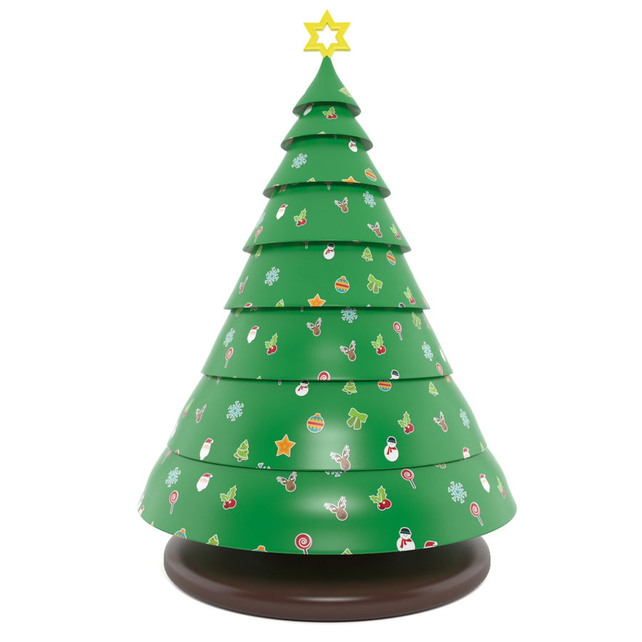 inflatable tree royalty-free 3d model - Preview no. 1