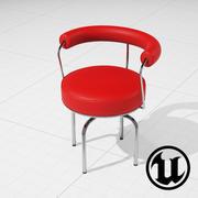 LC7 Drehstuhl UE4 3d model