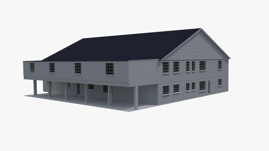 bâtiment public royalty-free 3d model - Preview no. 4