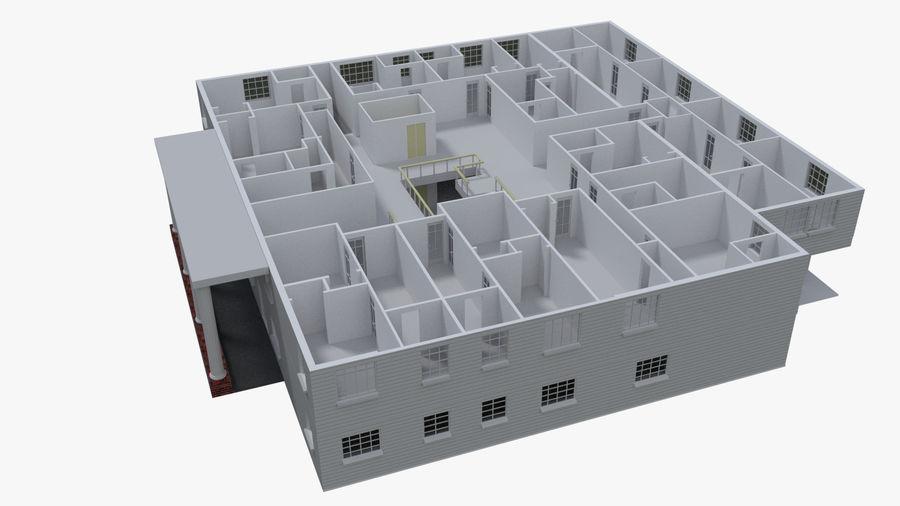 bâtiment public royalty-free 3d model - Preview no. 6