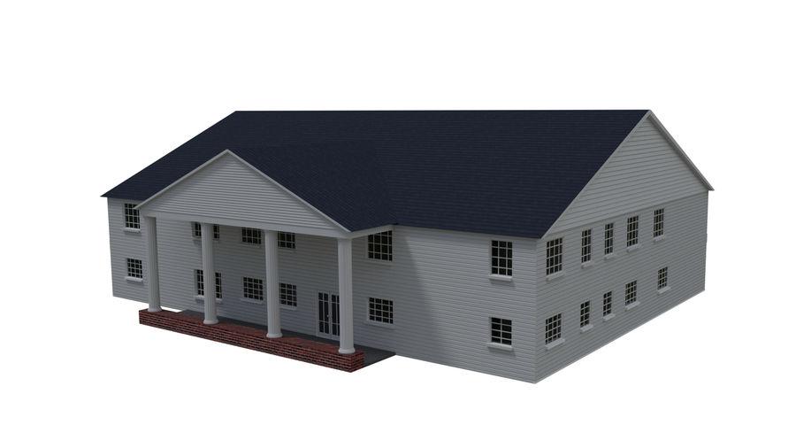 bâtiment public royalty-free 3d model - Preview no. 3