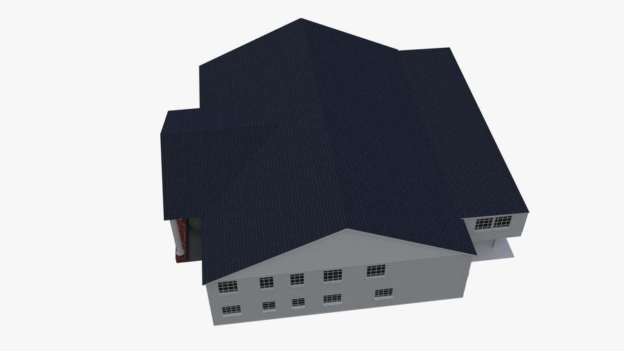 bâtiment public royalty-free 3d model - Preview no. 7