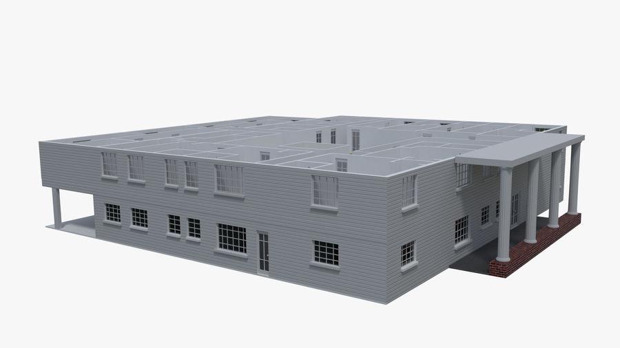 bâtiment public royalty-free 3d model - Preview no. 2
