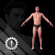 남성 스캔 댄 3d model