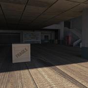 Scène de jeu 3d model