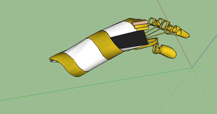 Kara + kesh + (vänsterhänt, + inga + arm) royalty-free 3d model - Preview no. 7