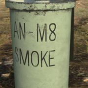 AN-M8 Smoke Grenade 3d model