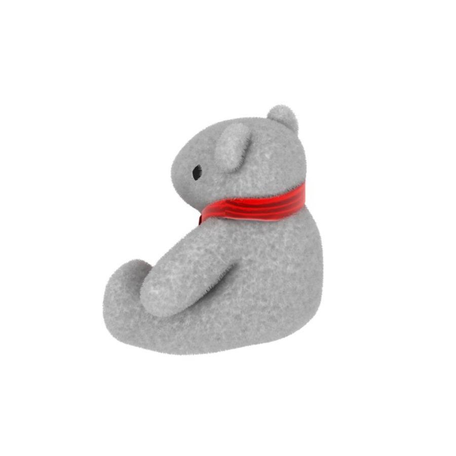 Niedźwiedź polarny royalty-free 3d model - Preview no. 3