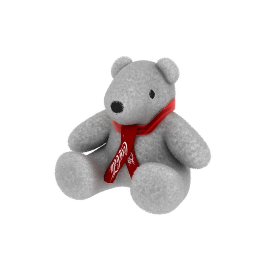 Niedźwiedź polarny royalty-free 3d model - Preview no. 2