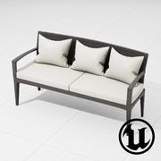 Dedon Panama Sofa 3d model