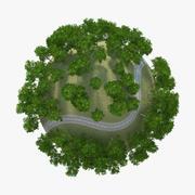 Planet RailRoad 3d model