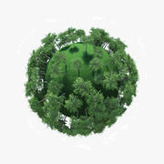 Planetensaison Sommer 3d model