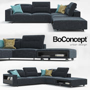 Sofá Hampton BoConcept 3d model