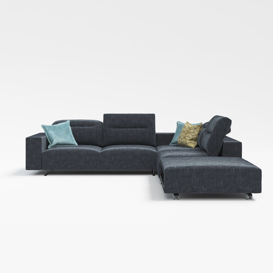 Sofá Hampton BoConcept royalty-free modelo 3d - Preview no. 3