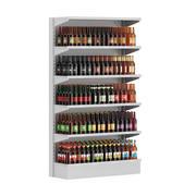Półka rynkowa - piwo butelkowe 3d model