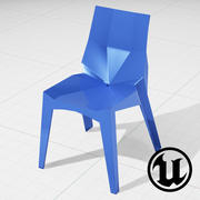 Karim Rashid Poly Chair UE4 3d model