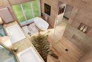 Ranch House - Bathroom 3d model