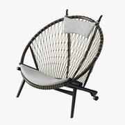 Krzesło Hans Wegner Circle autorstwa pp. Moblera 3d model