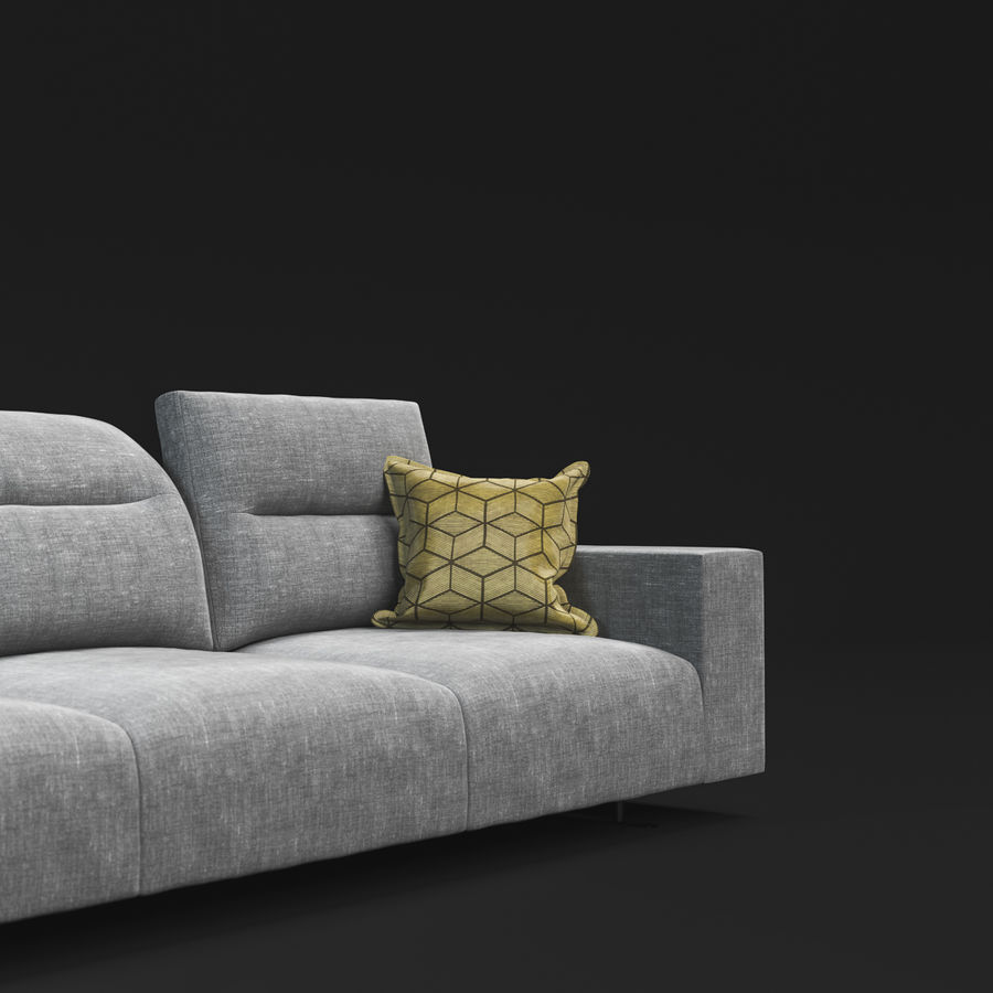 ソファHampton BoConcept royalty-free 3d model - Preview no. 5