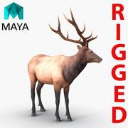 Elch für Maya manipuliert 3d model
