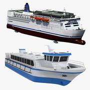 Colección Ferry modelo 3d