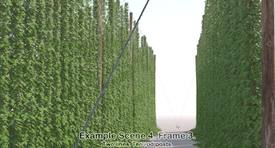 Hop Yard (1) royalty-free 3d model - Preview no. 53