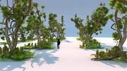 Büyülü Orman Paketi 21 3d model