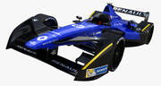 Formula E Renault E dams 2016 3d model